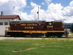 Ohio Central GP 1501 Side View by LDLAWRENCE