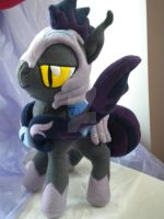 Night Guard Plushie by AllysonCarver