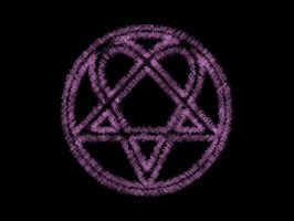 Heartagram by D-Palm