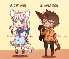 Adoptables Auction CLOSED by Keikilani
