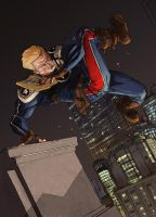 Steve Rogers pin-up colors by Geoffo-B