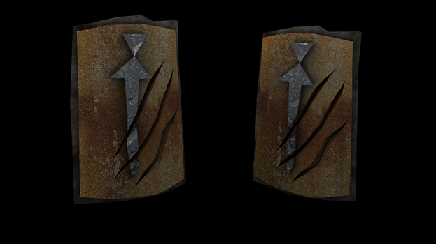 Anti-dragon shield (HighRes Runescape) by iammrx