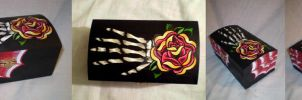 Skeleton Hand Box by Vicki-Death