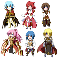SC RO cross chibis by ruina