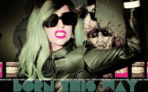 Wall De Lady Gaga by Nereditions