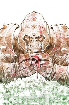 Grodd of War Cover by manapul