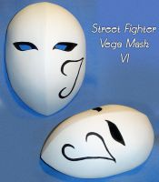 Street Fighter - Vega Mask 6 by YellerCrakka