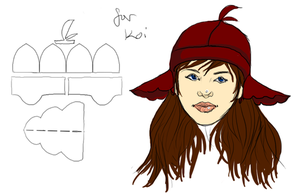 Design for Koi's Hat by Frodomeg
