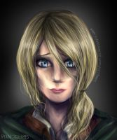 Christa Renz Realistic by CharlightArt