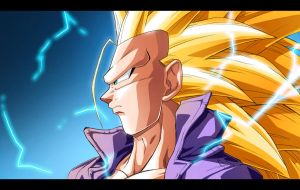 Super Saiyan 3 Future Trunks by moxie2D