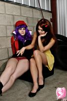 Asuka and Misato Preview Pic 1 by PixelVixens