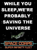 Red Dwarf - Space Corps poster [1 of 2] by DoctorWhoOne