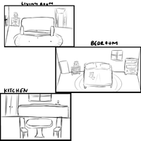 AW:: kagami's house plans by harmpink456