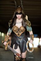 Dark Warrior Princess by BrassIvyDesign