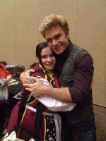 2nd Pic of Vic Mignogna and I- Colossalcon 2014 by albertxlailaxx