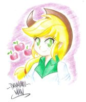 Honest Applejack by DANMAKUMAN