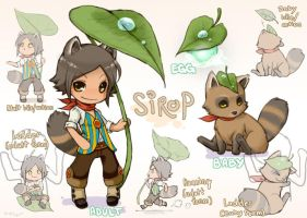 Raccoon-Boy Sirop by wasashu