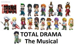 Total Drama The Musical Crew by cococheese
