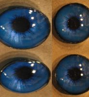 4cm Deep Blue 3D Eyes by Monoyasha