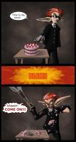 Angry vs Cake by ReallyAngry