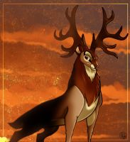 Woah A Random Brown Buck? by dyb