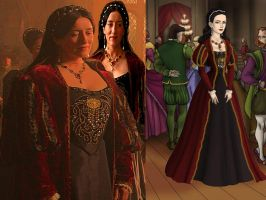 The Tudors- Queen Katherine of Aragon by Nurycat