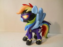 Shadow Bolt Rainbow Dash by EarthenPony