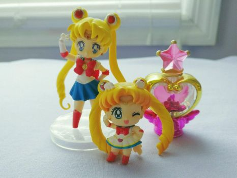 For Sale Sailor Moon Cute 20th Anniversary Items! by MindOfPain