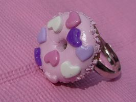 Hearts Ring by PinkCakes
