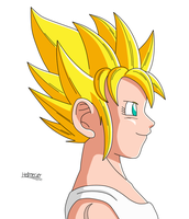 Pan DBA ssj by HelvecioBNF