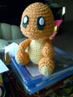 Charmander Amigurumi by debbiecraft