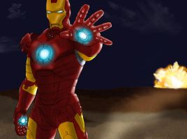 Iron Man - Machine of War by marron