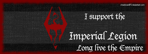 Imperial Legion Support Banner for Facebook by ChaoticWolf75