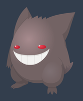 Gengar by CharonTheShadow