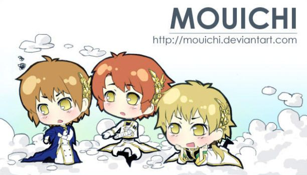 3 Little Angels by Mouichi