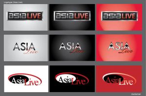 Asia Live logos1 by Naasim