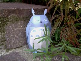 Totoro - Papercraft by Lyrin-83