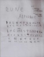 Rune Alphabet by Long-live-Japan