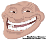 Epic Trollface by Diemon007