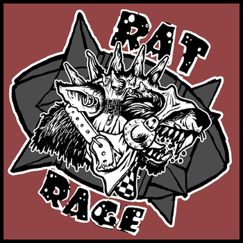 Rat Rage logo by Mathy