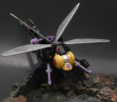 Insecticon Flyby Bug by Shinobitron