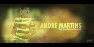 Andre Martins I Sporting Clube de Portugal by RafaelVicenteDesigns