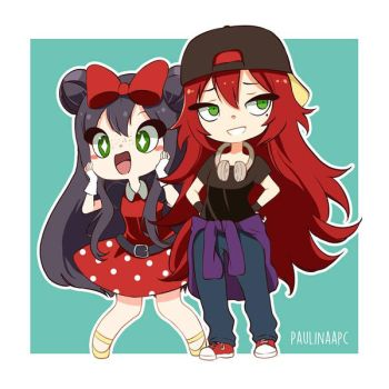 Chibi commission for C-Voyage 3 by Paulinaapc