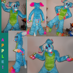 Apple Fursuit Makeshift Photos by Doodle-Dreams