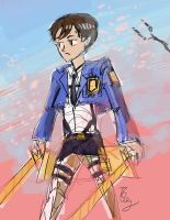 Shingeki no Ouran by tomato-bird