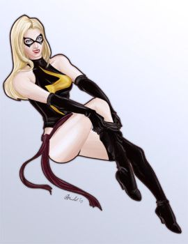 Ms. Marvel by gallyko