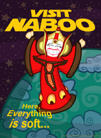 Naboo Travel Poster by MU-Cheer-Girl