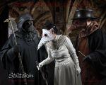 Plague Doctors Confer by TomBanwell