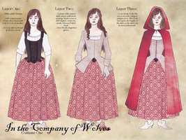 In the Company of wolves - costume study by Rachyf1