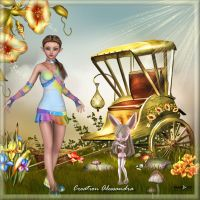 A magical day for you by Alessandra3DArt